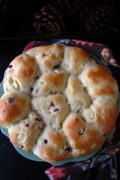 Apple Cranberry Dinner Rolls | The savory-sweet combo of these rolls is the perfect addition to your traditional holiday table. Find recipe at redstaryeast.com.