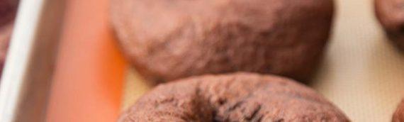 Cocoa Sourdough Bagels