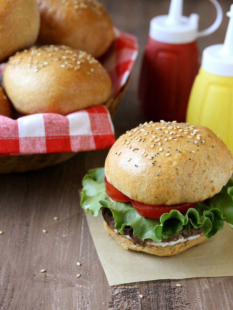 whole wheat brioche burger buns red star yeast. Black Bedroom Furniture Sets. Home Design Ideas