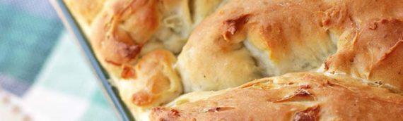 Herb Onion Batter Bread