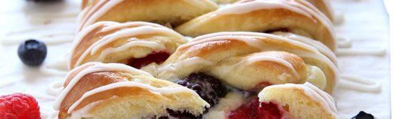 Summer Berry Danish Braid