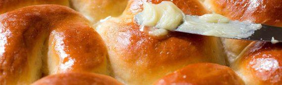 Honey Butter Dinner Rolls