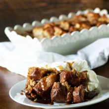 Brioche Monkey Bread Bread Pudding