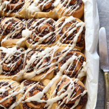 Chocolate Hazelnut Sweet Rolls