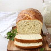 Buttermilk Ranch Sandwich Bread   Light and tender sandwich bread flavored with buttermilk and fresh herbs. Find recipe at redstaryeast.com.