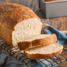 Homemade Fluffy White Bread | You just can't beat classic white bread - perfect for sandwiches, toast, and French toast. Find recipe at redstaryeast.com.
