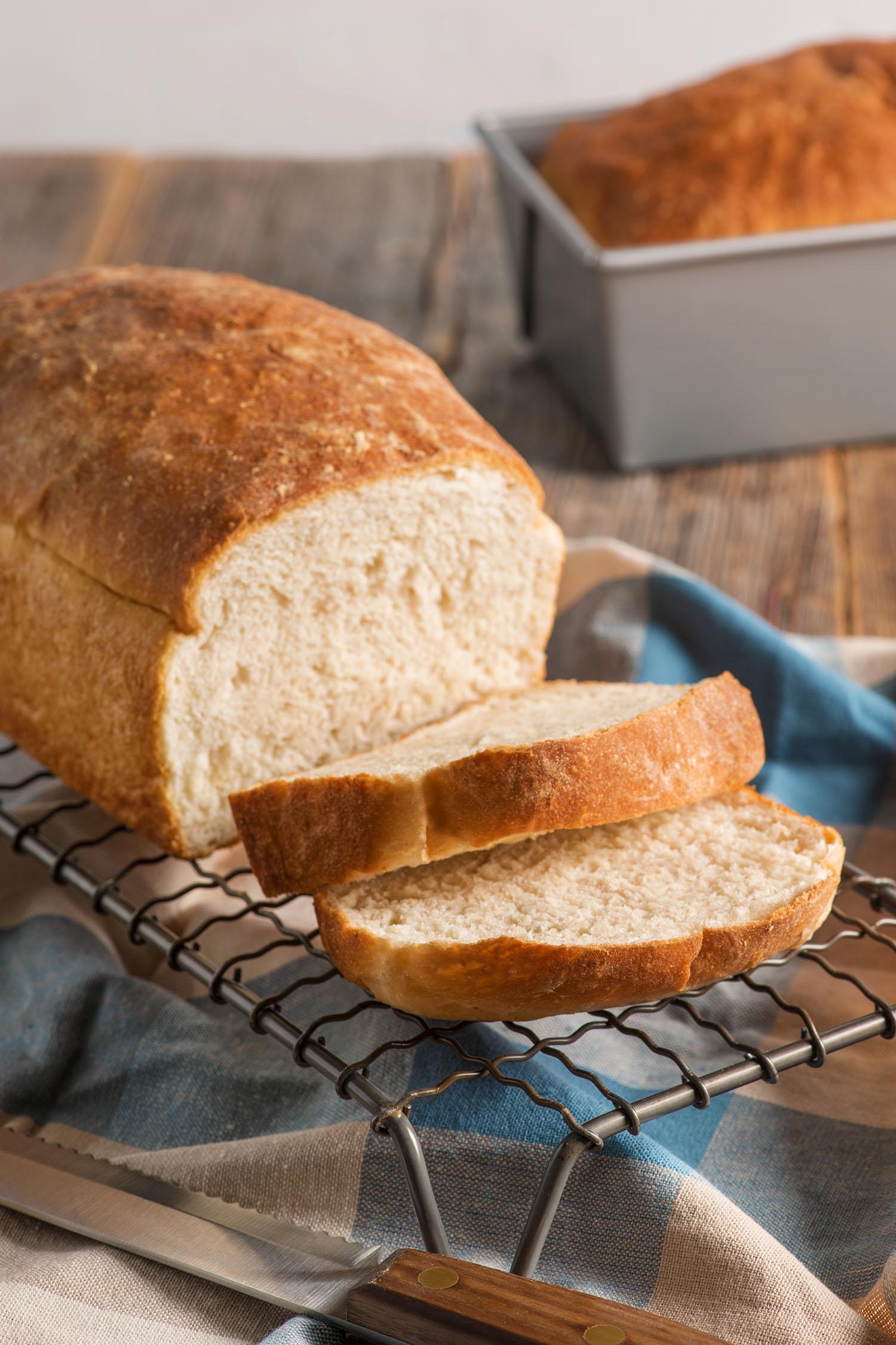 Homemade Fluffy White Bread | Red Star