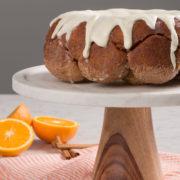 Orange Almond Bubble Loaf