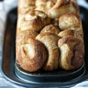 Brioche Monkey Bread | A rich brioche dough turned into a sweet & delicious monkey bread. Find recipe at redstaryeast.com.
