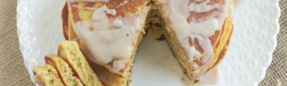 Gluten Free Pumpkin Yeast Pancakes