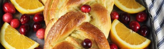 Orange Cardamom Braided Bread