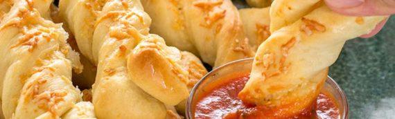 Roasted Garlic Breadsticks