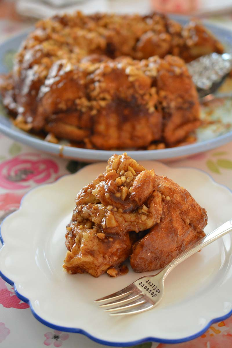 Caramel Cashew Monkey Bread Recipe Red Star Yeast