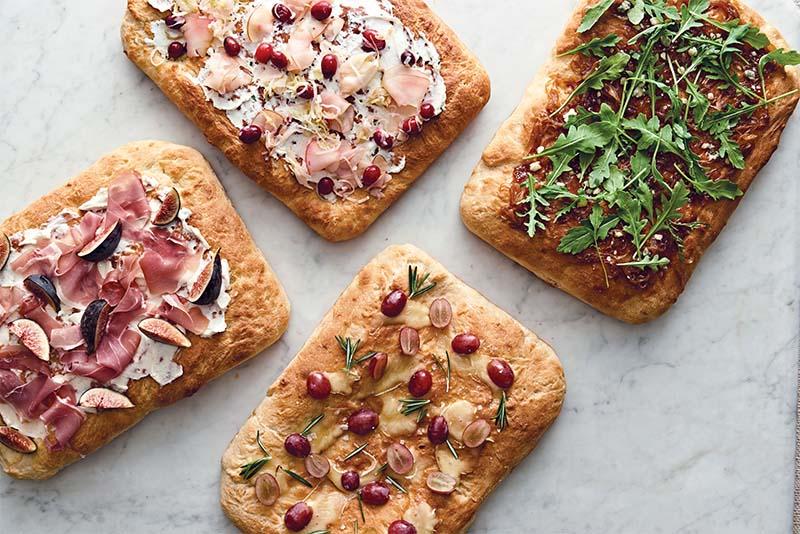 Focaccia 4 Ways Red Star Yeast
