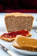 Vegan Whole Wheat Bread | A vegan whole wheat bread recipe that is easy, quick, and results in the FLUFFIEST wheat bread! This bread is hearty and fluffy, the BEST. Find recipe at redstaryeast.com.