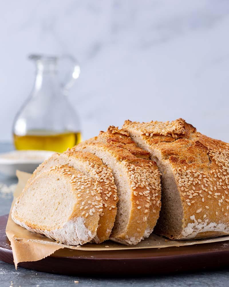 Platinum Instant Sourdough Semolina Bread Red Star Yeast