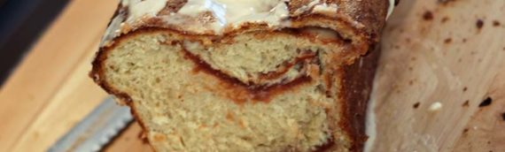 Platinum Instant Sourdough Apple Butter Swirl Breakfast Bread