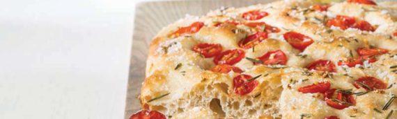 Platinum Instant Sourdough Tomato Focaccia