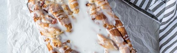Platinum Instant Sourdough Vegan Cinnamon Apple Babka
