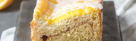 Meyer Lemon Danish Loaves