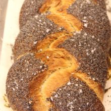 Platinum Instant Sourdough Whole Wheat Challah | Not just for Jewish holidays, challah is a showstopper at any dinner table. This traditional braided loaf is enriched with butter and is 50% whole wheat, making it a healthier choice and increasing it's nutty complexity. Find recipe at redstaryeast.com.