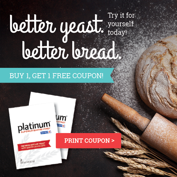 Platinum Instant Yeast from Red Star Coupon