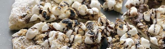 S'mores Grilled Pizza