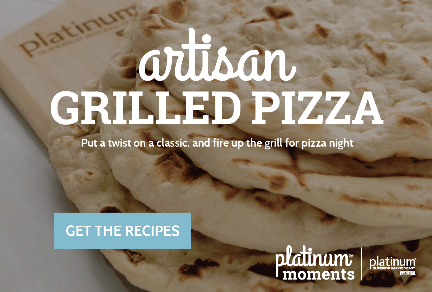 Artisan Grilled Pizza Crust