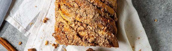 Cinnamon Pecan Streusel Babka