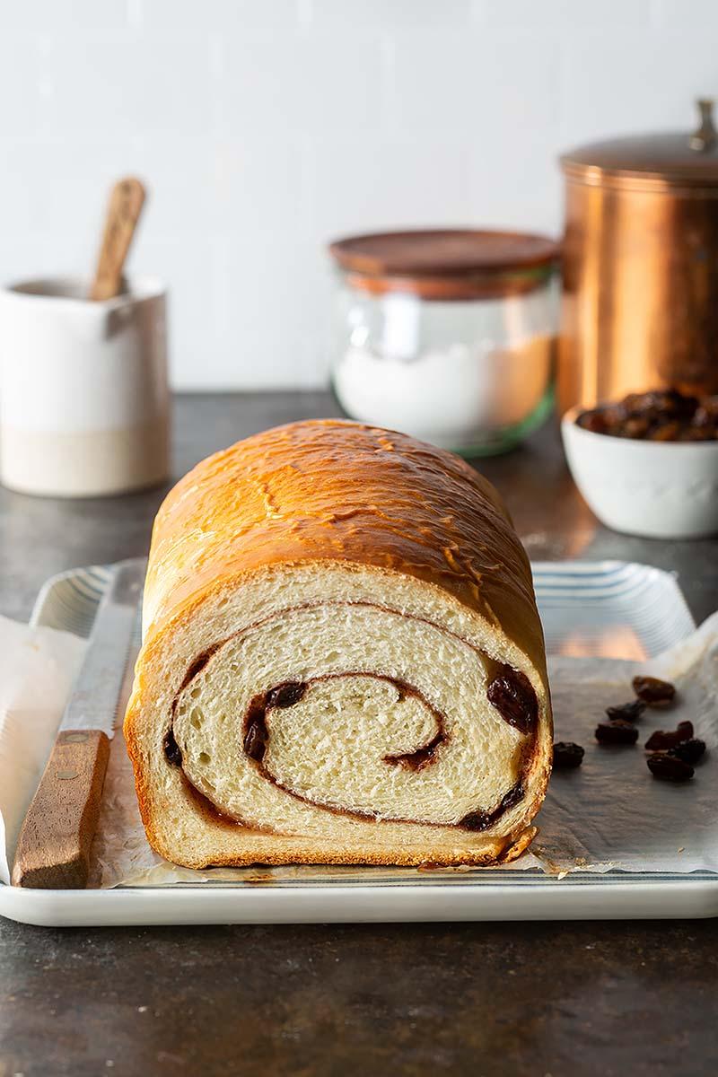 Cinnamon Raisin Swirl Buttermilk Bread Red Star Yeast